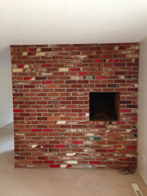 fireplace niche