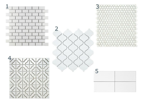 Backsplash tile choices