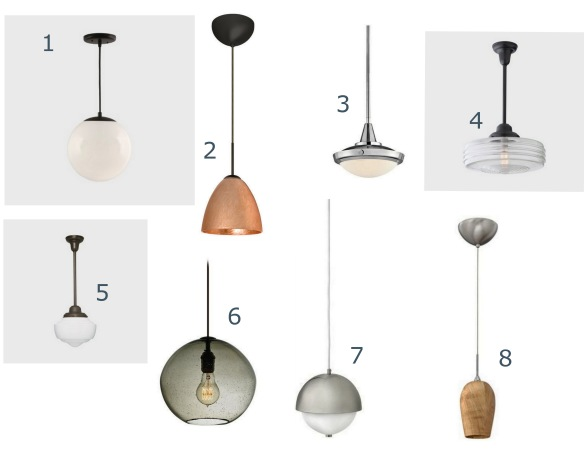 pendant lighting board