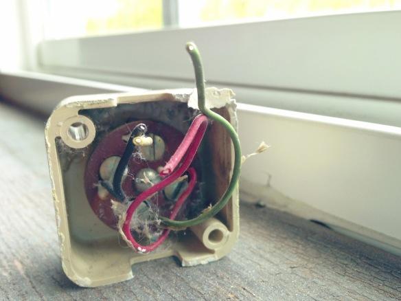 1965 portable phone jack interior