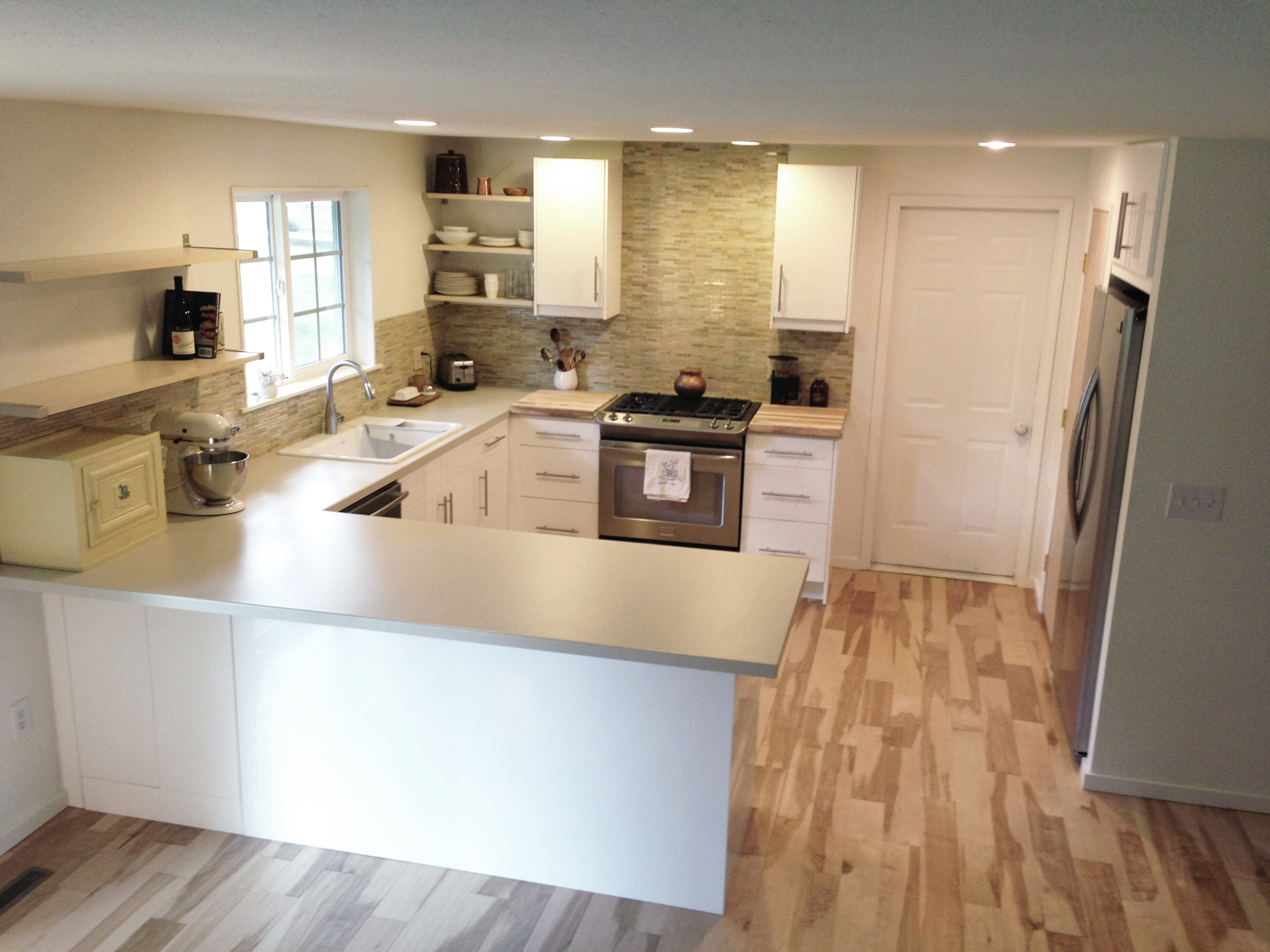 Kitchen remodel this bendable life for L shaped ranch house remodel