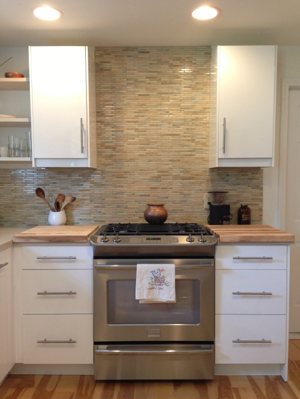 kitchen remodel backsplash after
