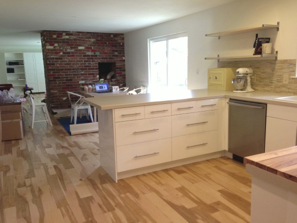 kitchen remodel peninsula